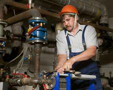 Free Plumber Working Stock Photo - 32565750