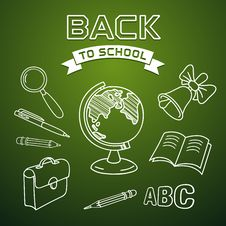 Free Welcome Back To School Royalty Free Stock Photo - 32572905