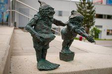 Free Wroclaw Dwarf, Chlapibrzuch I Moczypieta Royalty Free Stock Photography - 32575627