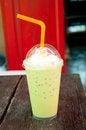 Free Ice Milk Green Tea Stock Photo - 32589730
