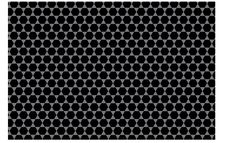 Free Pattern - Black Hexagon Royalty Free Stock Photos - 32581758