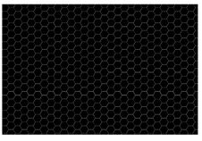 Free Pattern - Black Hexagon Royalty Free Stock Photography - 32582237