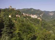Arquata Del Tronco, Marche Stock Photography