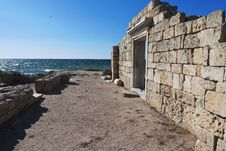 Free Ruins Of Chersonese Taurian In Crimea Stock Photography - 32599712