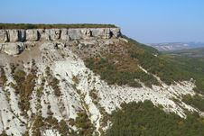 Free Mountains Near Chufut-Kale, Bakhchisaray, Crimea Royalty Free Stock Image - 32599926