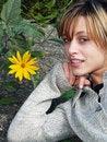 Free Flower Girl Royalty Free Stock Image - 3260166