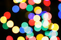Free Colorful Christmas Lights Royalty Free Stock Images - 3261309