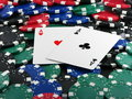 Free Two Aces Stock Images - 3269594