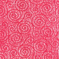 Red Swirl Background Stock Image