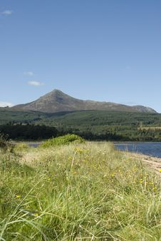 Free Scottish Coast And Mountain Stock Photography - 3261212