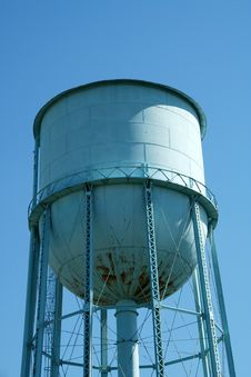 Free Blue Water Tower Stock Photos - 3261313