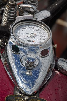 Free Motorcycle Speedometer Royalty Free Stock Photography - 3261567