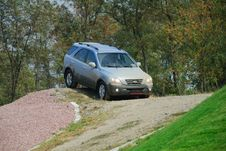 Offroad Driving Stock Photography