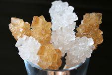 Free Sugar Crystals Royalty Free Stock Images - 3263069