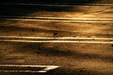 Free Empty Parking Spaces Stock Image - 3263161
