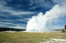 Free Old Faithful At Yellowstone NP Stock Photos - 3263343