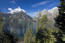 Free Grand Teton After First Snow Royalty Free Stock Photography - 3263387