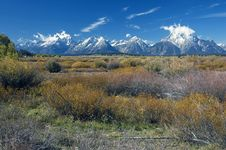 Free Grand Teton After First Snow Royalty Free Stock Photo - 3263395