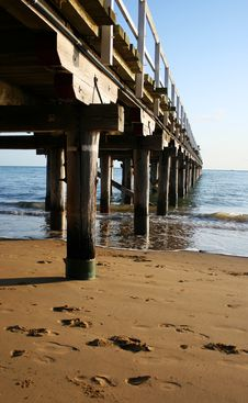 Free Old Wooden Pier Stock Photos - 3264673