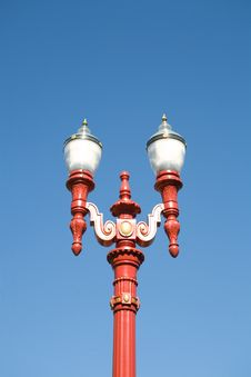 Free Red Gas Lamp Light Stock Photos - 3264883