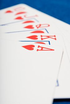 Free Royal Flush Stock Photos - 3264893