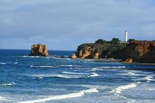 Free Lighthouse And Waves Royalty Free Stock Photography - 3265817