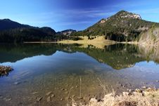Free Mountain Lake Royalty Free Stock Photography - 3265827
