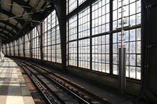 Free Railway Station Berlin Royalty Free Stock Photos - 3266278