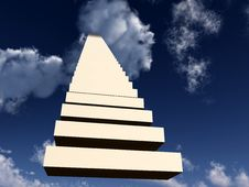 Free Stairway To Heaven 8 Stock Image - 3267451