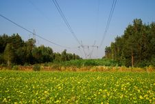 Free Power Line Royalty Free Stock Photos - 3267818