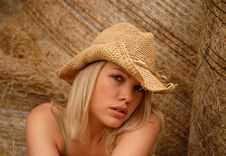 Free Country Girl Royalty Free Stock Image - 3268396