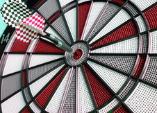 Free Colorful Darts !! Stock Image - 3268531