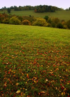 Free Autumn Landscape Royalty Free Stock Images - 3268829