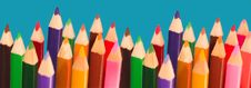 Free Colored Pencils Royalty Free Stock Image - 3269566