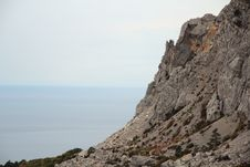 Free Rocks In Foros, Crimea Royalty Free Stock Photo - 32600005
