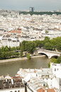 Free View From Notre- Drame Cathedral, Paris Stock Images - 32627604