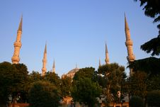 Free Blue Mosque Stock Images - 32627954