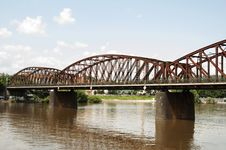 Free Railway Bridge At Vyton, Praha - Czech Republic Stock Images - 32628694