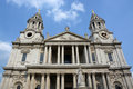 Free St Paul&x27;s Cathedral Western Side & Entrance View, London Royalty Free Stock Photos - 32631438