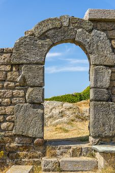 Free Fortress Entrance Royalty Free Stock Photo - 32641255
