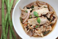 Free Thai Pork Salad Royalty Free Stock Image - 32644106
