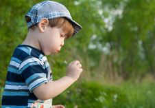 Free Little Boy Stock Photo - 32646270