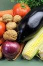 Free Fresh Raw Food Vertical Close Up. Stock Photos - 32650873