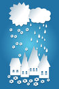 Free Cute Weather Paper Background Royalty Free Stock Images - 32654429