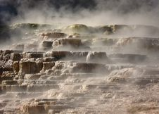 Free The Mound, Mammoth Springs, Yellowstone Stock Image - 32654051