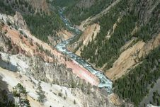 Free Grand Canyon Of The Yellowstone Stock Photos - 32654613