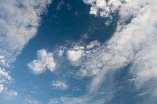 Free Clouds On Blue Sky Royalty Free Stock Photo - 32654825