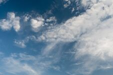 Free Clouds On Blue Sky Royalty Free Stock Photography - 32654827