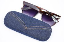 Free Sunglasses And Case Stock Images - 32656144