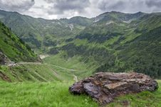 Free Beautiful Mountains Landscape In Carpathian Stock Photography - 32658412